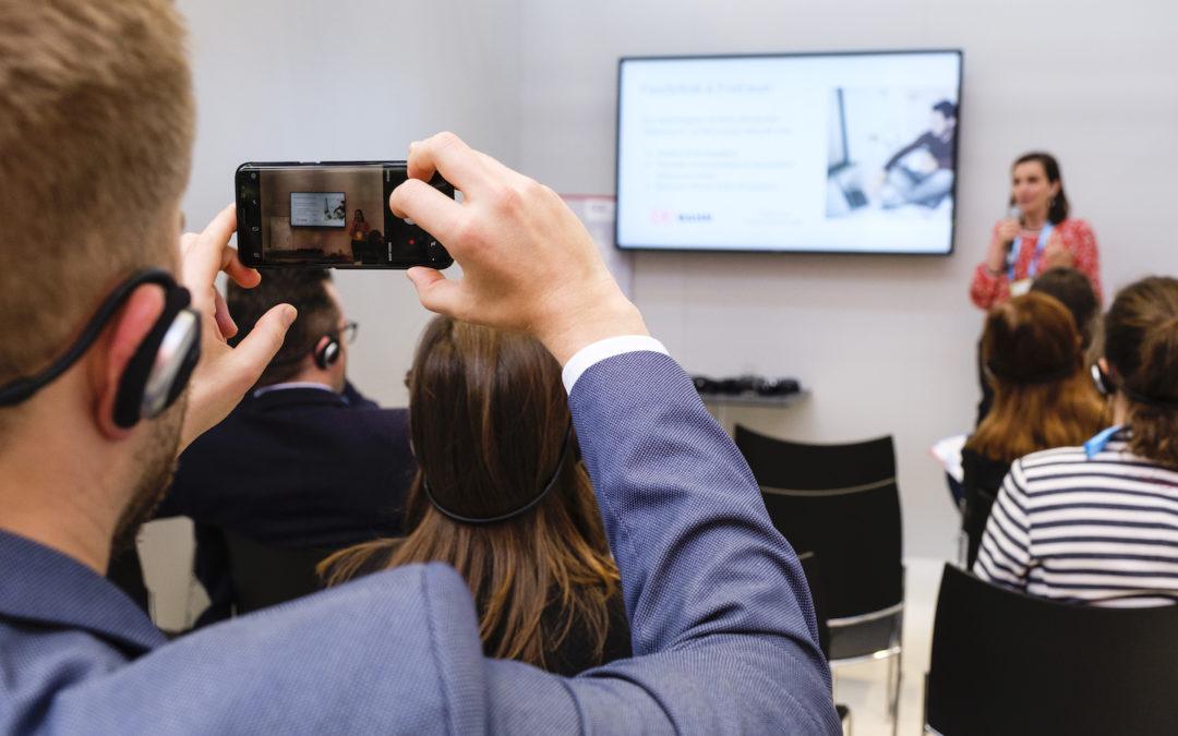 Hybride und digitale Veranstaltungen durchführen