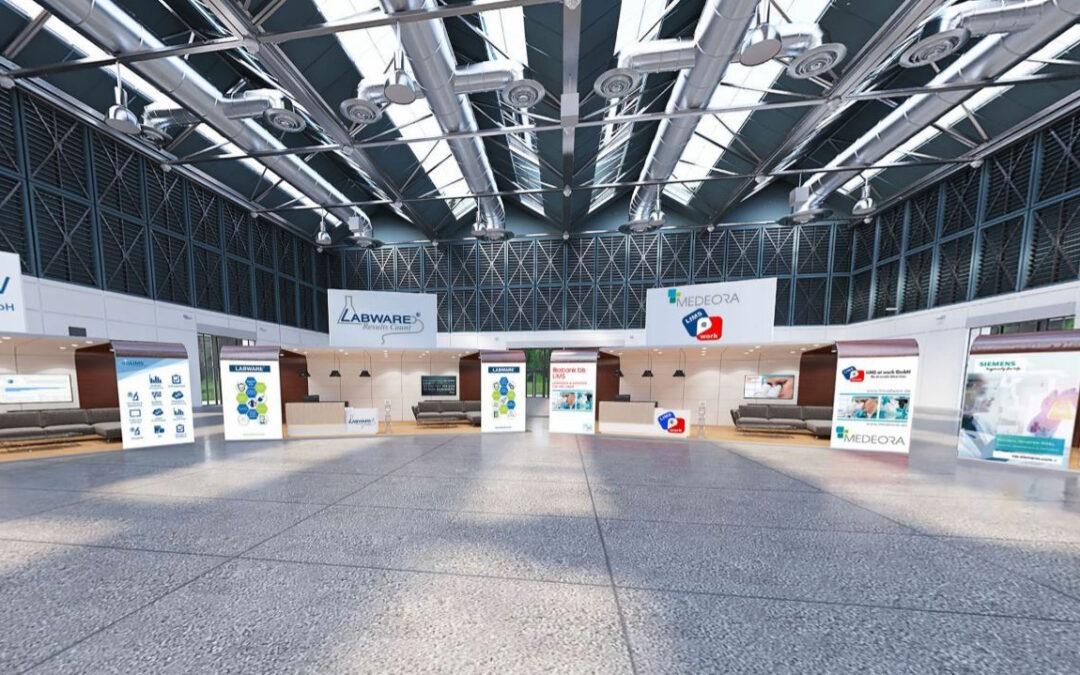 GCB Virtual Venue –  Eigene Messehalle